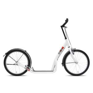 Goedkope fiets Bike Fun step 20 Inch Unisex V Brake Wit