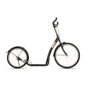 Goedkope fiets Bike Fun step Bike2Go 24 Inch Unisex V Brake Zwart