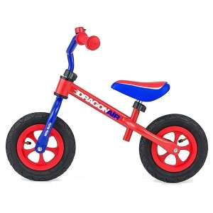 Goedkope fiets Milly Mally loopfiets Dragon Air 10 Inch Junior Blauw/Rood