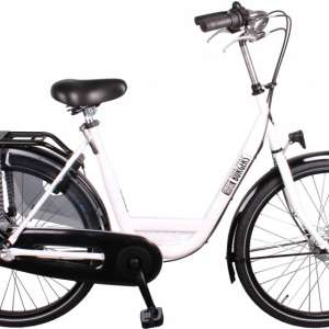 Goedkope fiets Burgers ID Personal 26 Inch 50 cm Dames 3V Rollerbrake Wit
