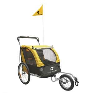 Goedkope fiets M Wave Carry All 3 in 1 20 Inch Unisex Geel